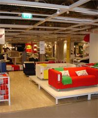 навесная полка: круглая кровать икеа. мебель в икеа, кровати, гостиные.