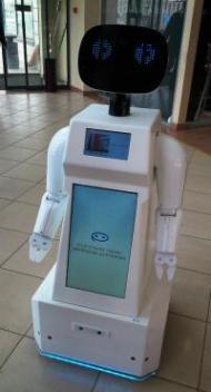 Креативная объявление - Роботы в магазинах Перми в качестве креативной рекламы