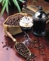 ...кофе покупают в продуктовых магазинах/гастрономах.